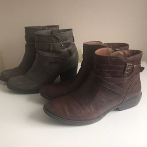 Set of 2 pairs of boots